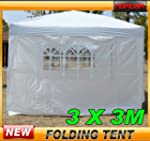 Homcom 3mx3m Pop Up Gazebo Party Tent...