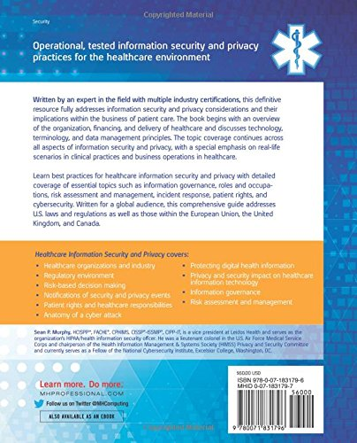 Healthcare Information Security and Privacy (All-in-One Series)