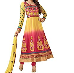 Krishna ECommerce Women's Salwar Suit Dress Material. (Lrishma12)
