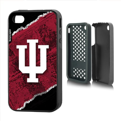 Indiana Hoosiers Iphone 4/4S Rugged Case Brick Ncaa