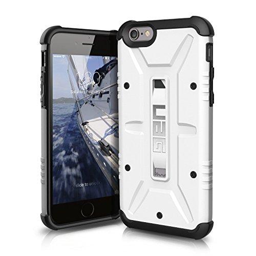 【日本正規代理店品】URBAN ARMOR GEAR iPhone 6s/6 (4.7インチ)用コンポジットケース ホワイト フラストレーションフリーパッケージ(FFP) UAG-FIPH6S-WHT