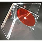 Jewel CD Cases DOUBLES 5.2mm Clear Tray(10)
