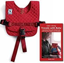 Bundle Small  Infant to 6 mos Baby B39Air flight safety harness with award-winning Take-Along Travel