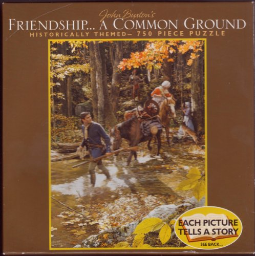 "John Buxton's Friendship ... A Common Ground * 750 Piece Puzzle 18"" x 24"""
