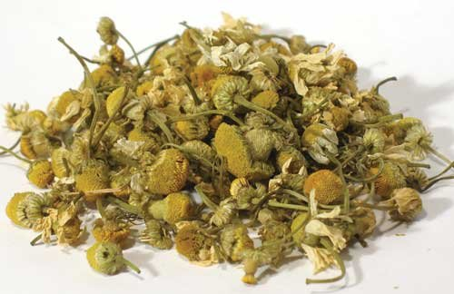 Chamomile Flowers, Whole, Dried Herb, 1 Oz