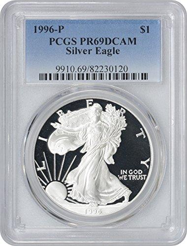 1996 Silver Eagle American Dollar