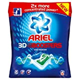 Ariel Stain Remover Blue 3D Boosters (Pack of 4, Total 112 Tablets)