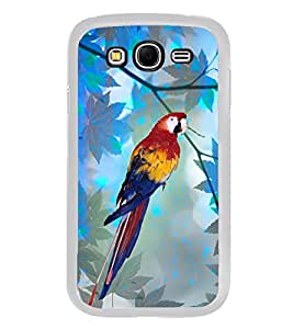 Parrot 2D Hard Polycarbonate Designer Back Case Cover for Samsung Galaxy Grand 2 :: Samsung Galaxy Grand 2 G7105 :: Samsung Galaxy Grand 2 G7102