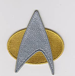 Star Trek Command Insignia Space Exploration Kirk Communicator Badge Patch