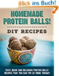 Homemade Protein Balls! DIY Recipes:...