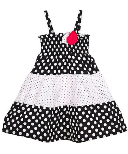 8ba3e5d2fcbf Penelope Mack, Little Girls Dress with Coordinating Bloomers, White, Size:  3-6 mths