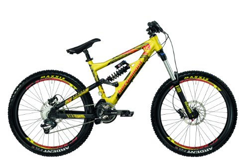 Bergamont Downhill Big Air 6.3 black/yellow/red matt (2013)