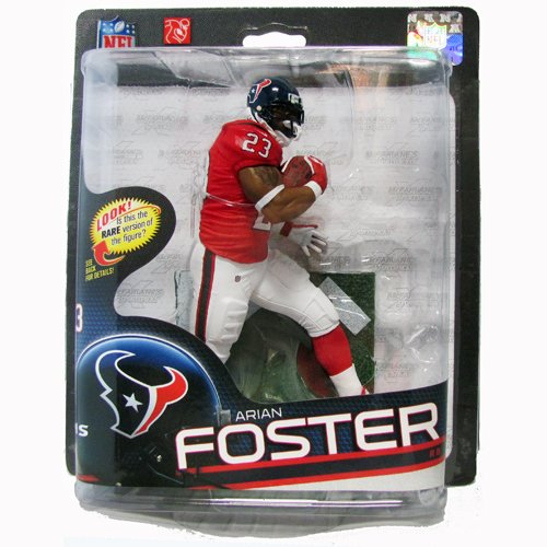 McFarlane NFL Sportspicks Arian Foster Silver Level Variant 6 Inch Action Figure (Arian Foster Figure compare prices)