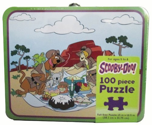 Scooby Doo & Shaggy Australia 100 Piece Jigsaw Puzzle & Metal Lunch Box
