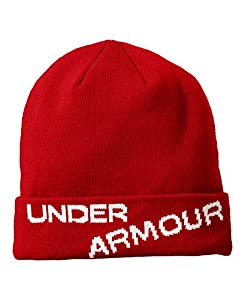 Under Armour Men's Ski Hat One Size Fits All University Red