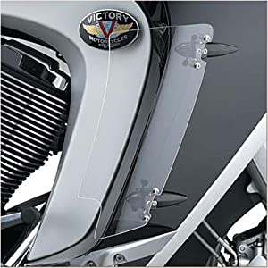 Victory MotorcyclesBlack Lower Air Deflectors - Victory Vision