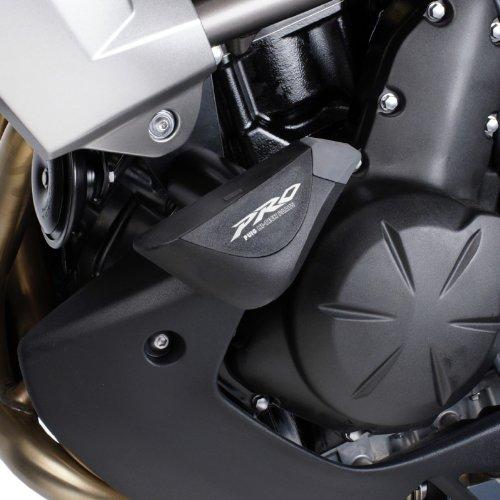 Roulettes de protection Puig PRO Kawasaki Versys 650 10-14 noir