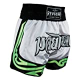 Youth Thai Fighter Shorts - White - White - M (10-12)