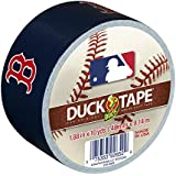 Duck Brand 240687 Boston Red Sox MLB Team Logo Duct Tape, 1.88-Inch by 10-Yard, 1-Pack