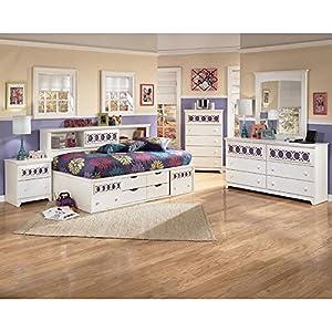zayley bookcase bedroom set bedroom