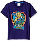 Ninja Hattori Boys' T-Shirt (HST-2126_Blue_2 - 3 years)