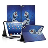 Sanheshun Smart Frozen Anna & Elsa Leather Case Cover For ipad Mini 2 3 w/Retina Display (Olaf)