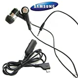 Samsung AARM0U3BBE Mic Cable Adapter with Soft-Gel In Ear Stereo Earbud Headset micro-USB connector - Headset Hands-Free for Samsung Eternity II (SGH-a597) Flight (SGH-a797) Gravity 3 (SGH-t479) Gravity Touch (SGH-t669) Mythic (SGH-a897) Rugby II (SGH-a847) SGH-t369 Smiley :) (SGH-t359) Strive (SGH-a687), A197, T369