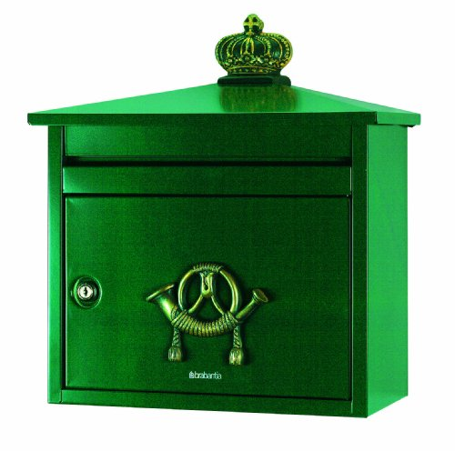 Brabantia B210 Postbox, Green
