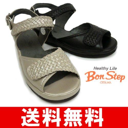 [ボンステップ] Bon Step レディースサンダル BS6204 (3E)
