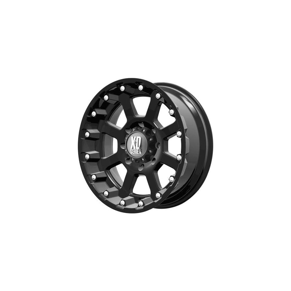 17x9 KMC XD Strike (Matte Black) Wheels/Rims 6x139.7 (XD80779068724N) Automotive