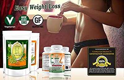 E-Z Weight Loss Pills + EASY Diet Tea. Fast Fat Burner & Appetite Suppressant. Rapid Weight Loss Supplement. Lose Weight 100% Guaranteed!