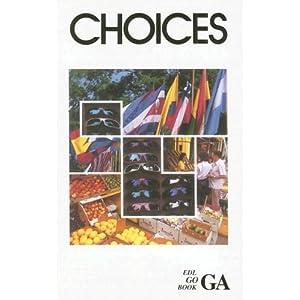 GA Choices (EDL GO) Estelle Kleinman, Nancy Carleton and Diane Bello Peragine