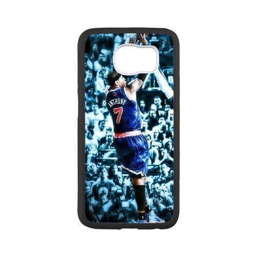 New York Knicks 2 Custom Phone Case Design for Samsung Galaxy S6 covers with Balck Laser Technology