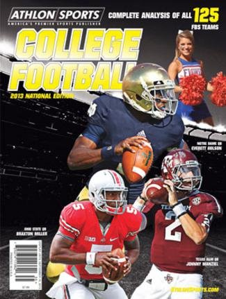 Athlon Sports 2013 College Football National Preview Magazine- Ohio State Buckeyes/Notre Dame Fighting Irish/Texas A&M Cover at Amazon.com