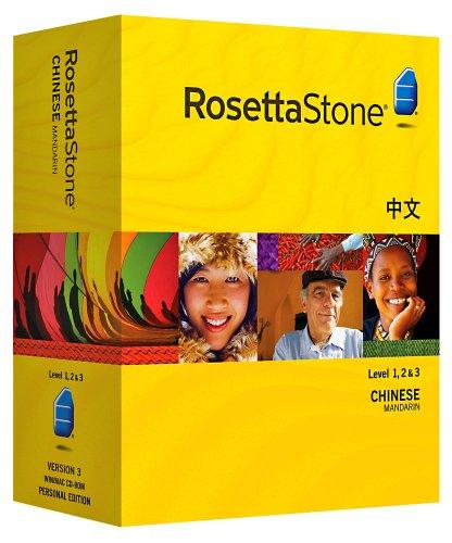 Rosetta Stone  Chinese (Mandarin), Level 1,2 & 3 Set with Audio Companion