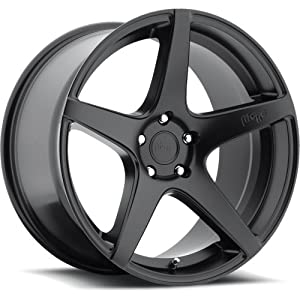 Niche GT-5 20 Black Wheel / Rim 5×112 with a 30mm Offset and a 66.6 Hub Bore. Partnumber M133200043+30