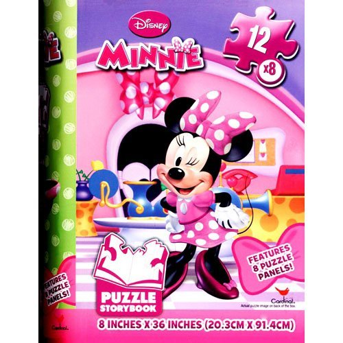 Minnie Mouse Storybook 96 Piece Puzzle