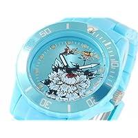 エドハーディー ED HARDY 腕時計 EH-VP2-BL ブルー 並行輸入品