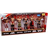 Mattel WWE Wrestling Exclusive Superstar Collection Action Figure 6-Pack Sin Cara, Wade Barrett, John Cena, Randy Orton, Brock Lesnar & Alberto Del Rio by WWE Exclusives