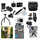 GoPro HERO3+: Silver Edition Adventure Package with Arm Mount + Flat Surface Mount + Everything You Need To Start
