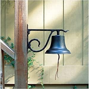 Whitehall Black Large Country Bell (00601)