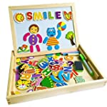 YIXIN Wooden Magnetic Drawing Sketchp...