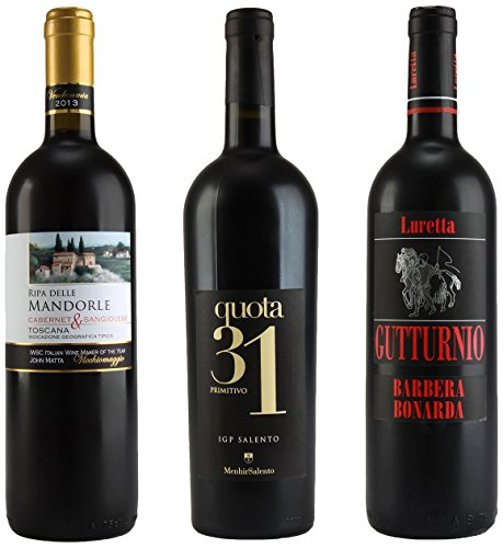 Taste of Italy All Red Table Wine Mixed Pack 3 x 750 mL