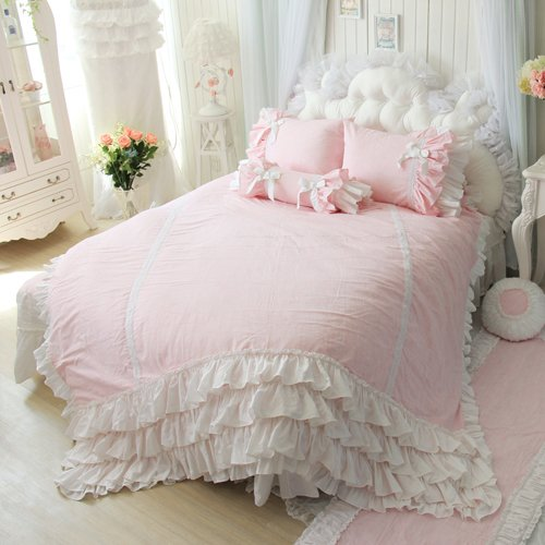 Queen Size Princess Bedding 172664 back