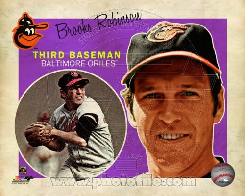 Brooks Robinson Baltimore Orioles 2013 MLB Retro Composite Photo 8x10 at Amazon.com