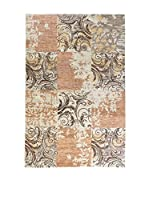 Eden Carpets Alfombra C/Palu Collection Marrón/Beige 298 x 198 cm