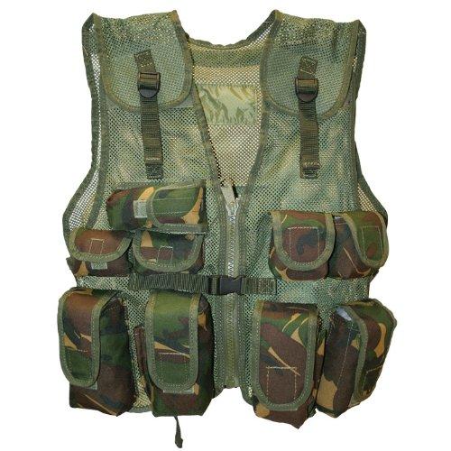 Military Tactical Junior Assault Vest Airsoft British DPM Camo