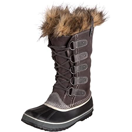 The Sorel Joan Of Arctic features a modern classic with warmth and durability that never goes out of style . Product Features: Waterproof full-grain and suede upper Seam-sealed waterproof construction Removable recycled felt InnerBoot InnerBoot traps...