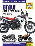 Haynes Manual 4872 BMW F800 (F650) Twins 06-10