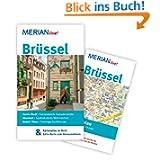 Brüssel: Mit Kartenatlas im Buch und Extra-Karte zum Herausnehmen (MERIAN live)